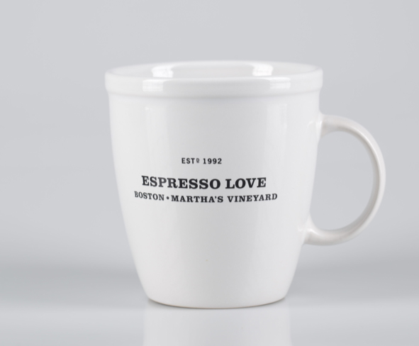18oz White Bistro Mugs